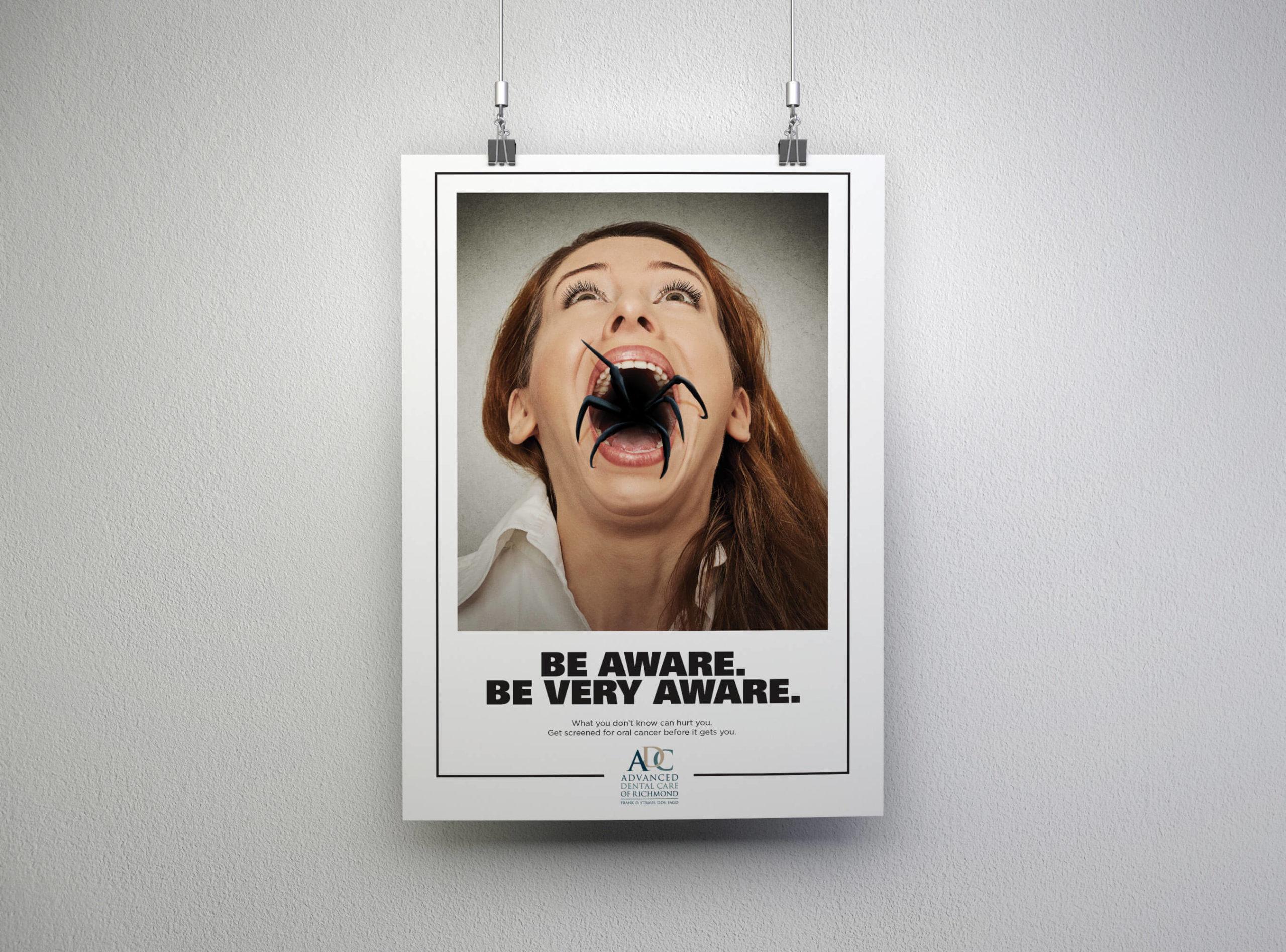 Oral Cancer Awareness Poster