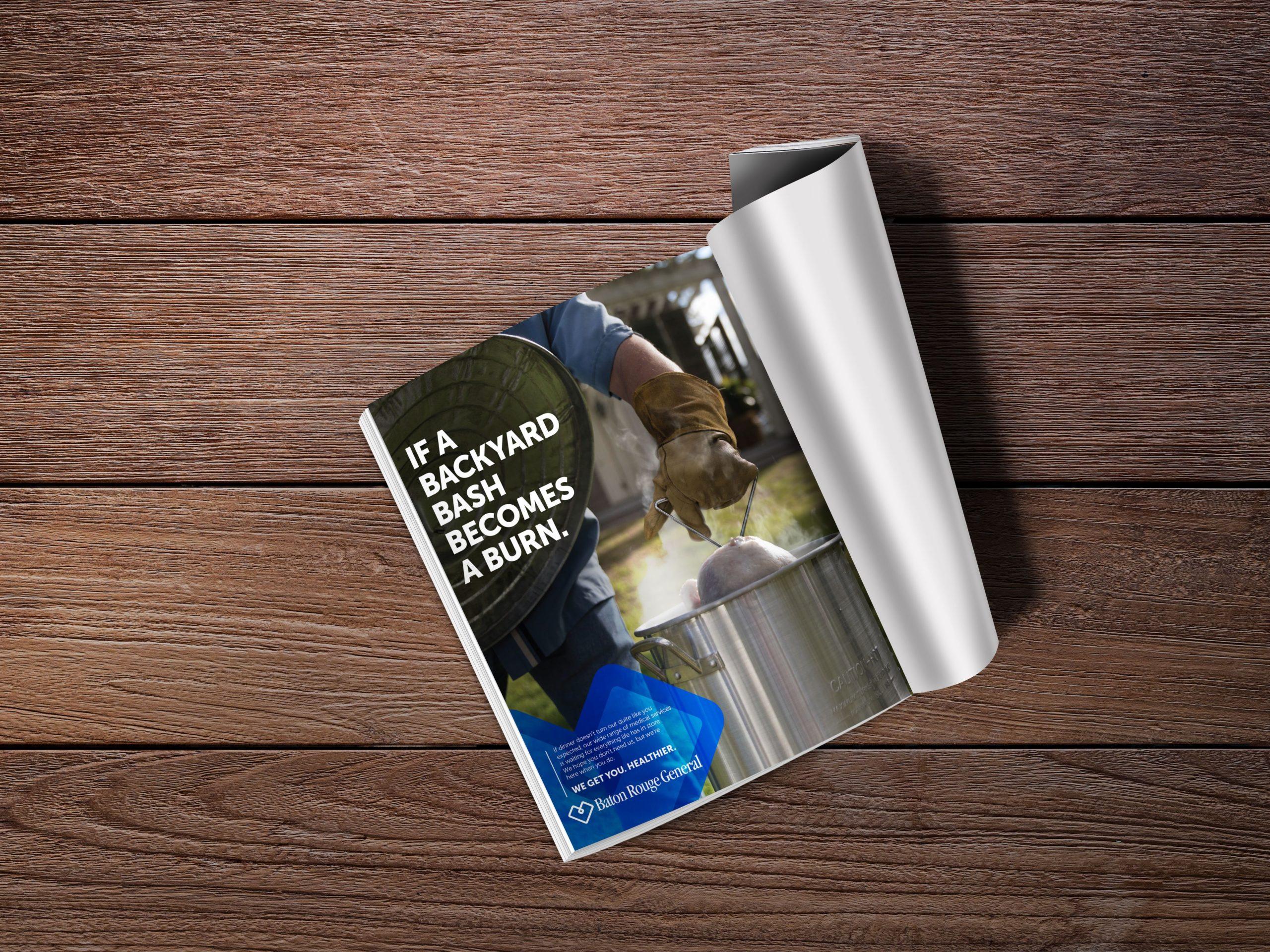 Baton Rouge General - Backyard Print Ad