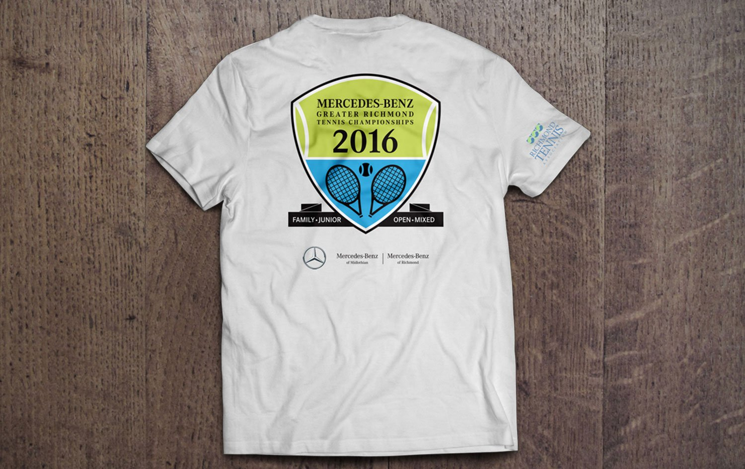 Mercedes Tennis Tournament shirt